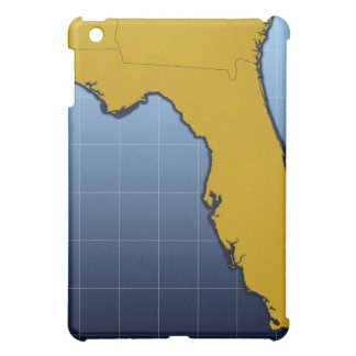 Map of Florida iPad Mini Covers