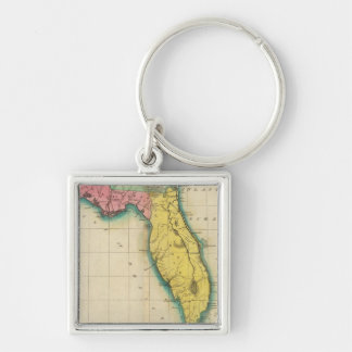Map Of Florida Key Ring