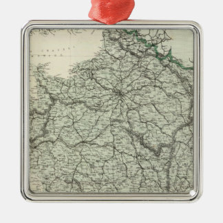 Map of France Christmas Ornament
