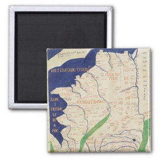 Map of France, from 'Geographia' Square Magnet