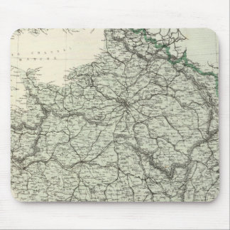 Map of France Mouse Pad