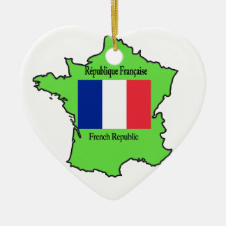 Map of France Ornament