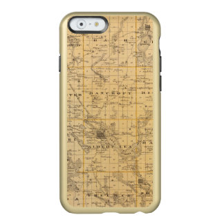 Map of Freeborn County, Minnesota Incipio Feather® Shine iPhone 6 Case