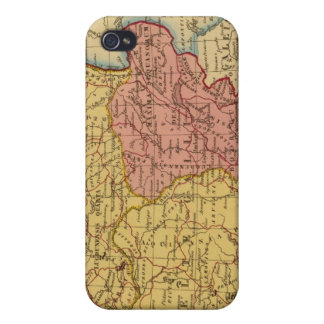 Map of Gaul iPhone 4 Covers