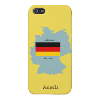 Map of Germany iPhone 4 Speck Case