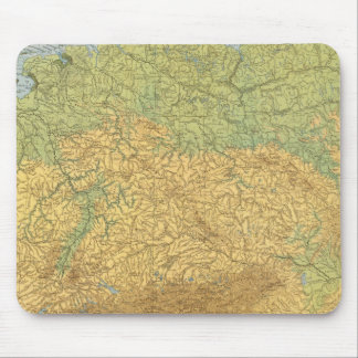 Map of Germany Mouse Mat
