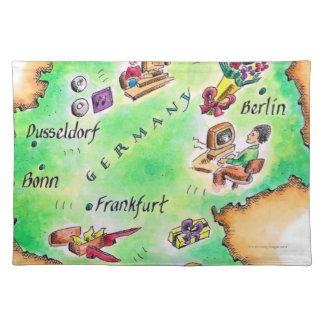 Map of Germany Placemat