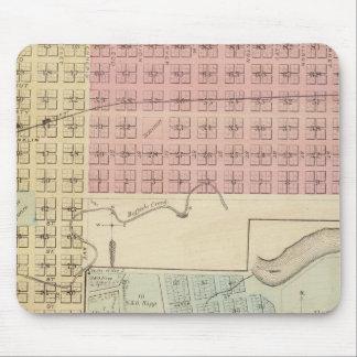 Map of Glencoe, Map of Henderson, Minnesota Mouse Pad