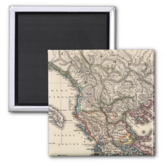 Map of Graecia, Macedonia, Thracia Magnet