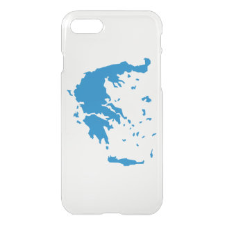 Map of Greece iPhone 7 Case