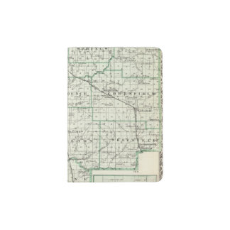 Map of Green County and Carrollton Passport Holder