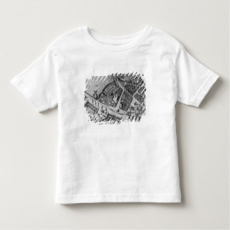 Map of Hamburg Toddler T-Shirt