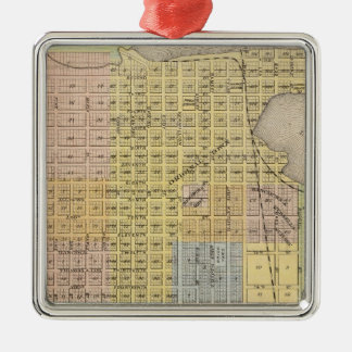 Map of Hastings, Dakota County, Minnesota Christmas Ornament
