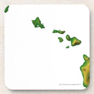 Map of Hawaii 2 Coaster