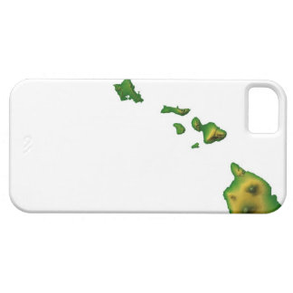 Map of Hawaii 2 iPhone 5 Case