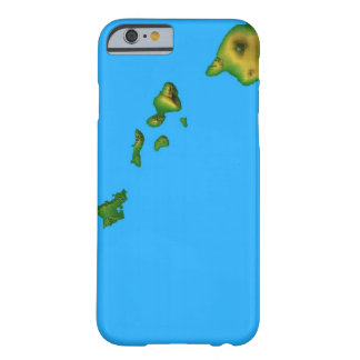 Map of Hawaii Barely There iPhone 6 Case