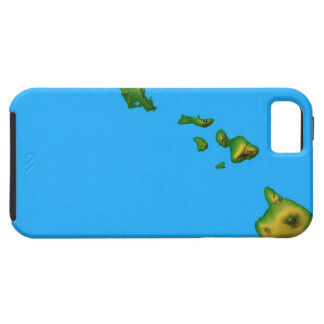 Map of Hawaii iPhone 5 Cases