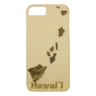Map of Hawaii iPhone 7 Case