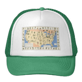 Map of Herbal Remedies hat