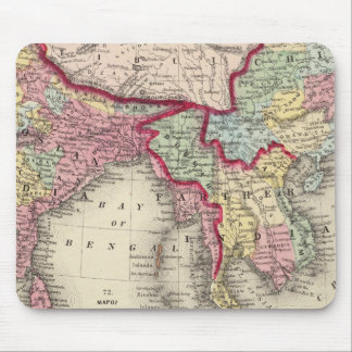 Map Of Hindoostan, Farther India, China, and Tibet Mouse Pad