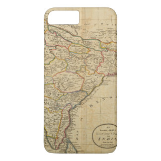 Map of Hindostan or India iPhone 8 Plus/7 Plus Case