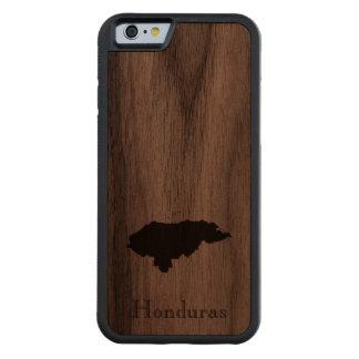 Map of Honduras: Classic Design Walnut iPhone 6 Bumper Case