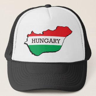 Map Of Hungary Trucker Hat