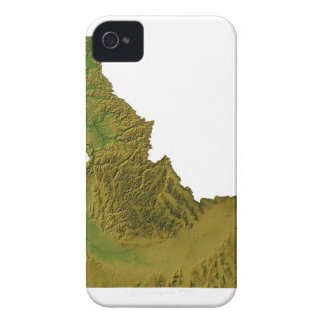 Map of Idaho 2 iPhone 4 Covers