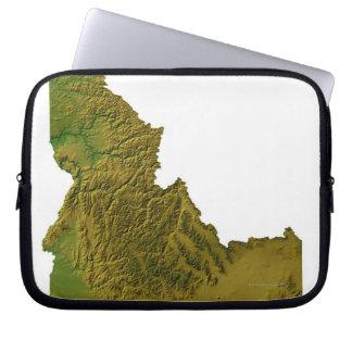 Map of Idaho 2 Laptop Sleeve