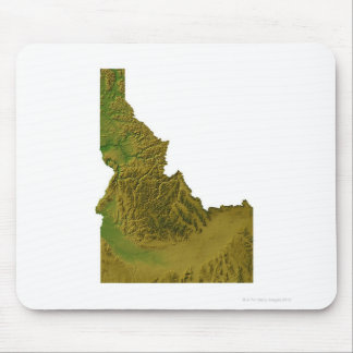 Map of Idaho 2 Mouse Mat