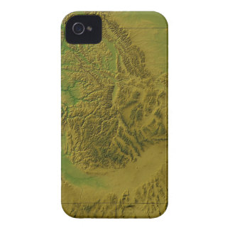 Map of Idaho Case-Mate iPhone 4 Case