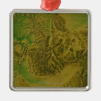 Map of Idaho Ornaments