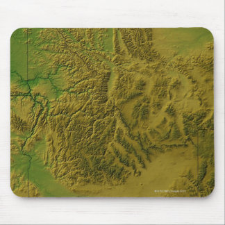 Map of Idaho Mouse Mat