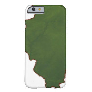 Map of Illinois 2 Barely There iPhone 6 Case
