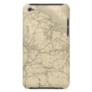 Map of Illinois 2 Barely There iPod Covers