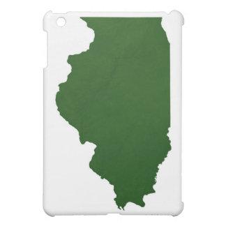 Map of Illinois Case For The iPad Mini