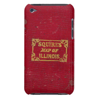 Map of Illinois iPod Touch Case-Mate Case