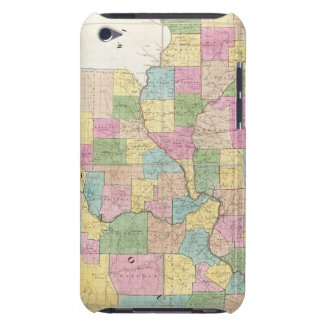 Map of Illinois & Missouri iPod Touch Case-Mate Case