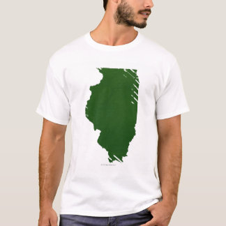 Map of Illinois T-Shirt