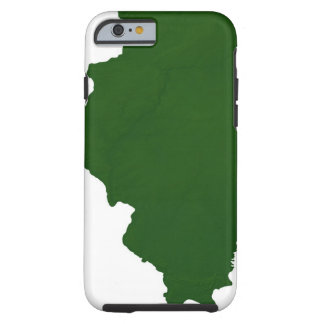 Map of Illinois Tough iPhone 6 Case
