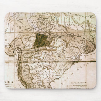 Map of India, 1803 Mouse Mat