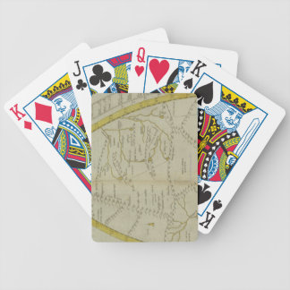 Map of India and Central Asia Bicycle Playing Cards