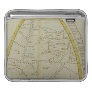 Map of India and Central Asia iPad Sleeve