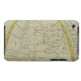 Map of India and Central Asia iPod Touch Cases