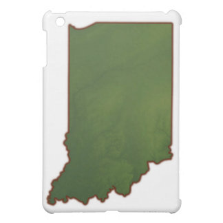 Map of Indiana 3 Case For The iPad Mini
