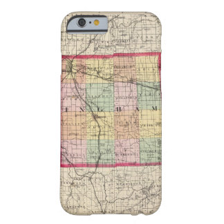 Map of Ingham County, Michigan Barely There iPhone 6 Case