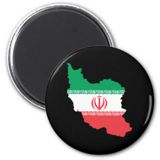Map Of Iran Magnet