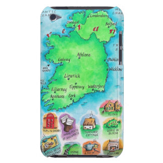 Map of Ireland Barely There iPod Cover