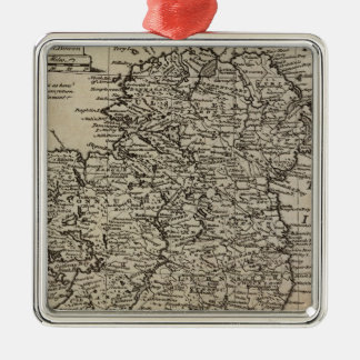 Map of Ireland Christmas Ornament