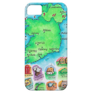 Map of Ireland iPhone 5 Cases
